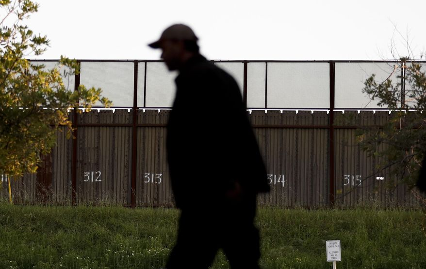 As envisioned by President Trump, some 32 miles of new wall will be built in the Border Patrol's Rio Grande Valley sector at a price of $784 million, or $24.5 million per mile. (Associated Press/File)