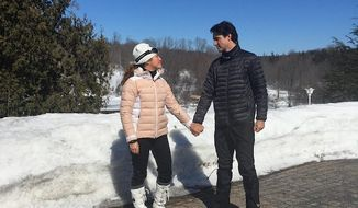 "Sophie Gregoire Trudeau, the wife of Canadian Prime Minister Justin Trudeau, sparked a backlash on social media after marking International Women's Day with calling on women to ""celebrate the boys and men"" in their lives. (Facebook/@Sophie Gregoire Trudeau)"