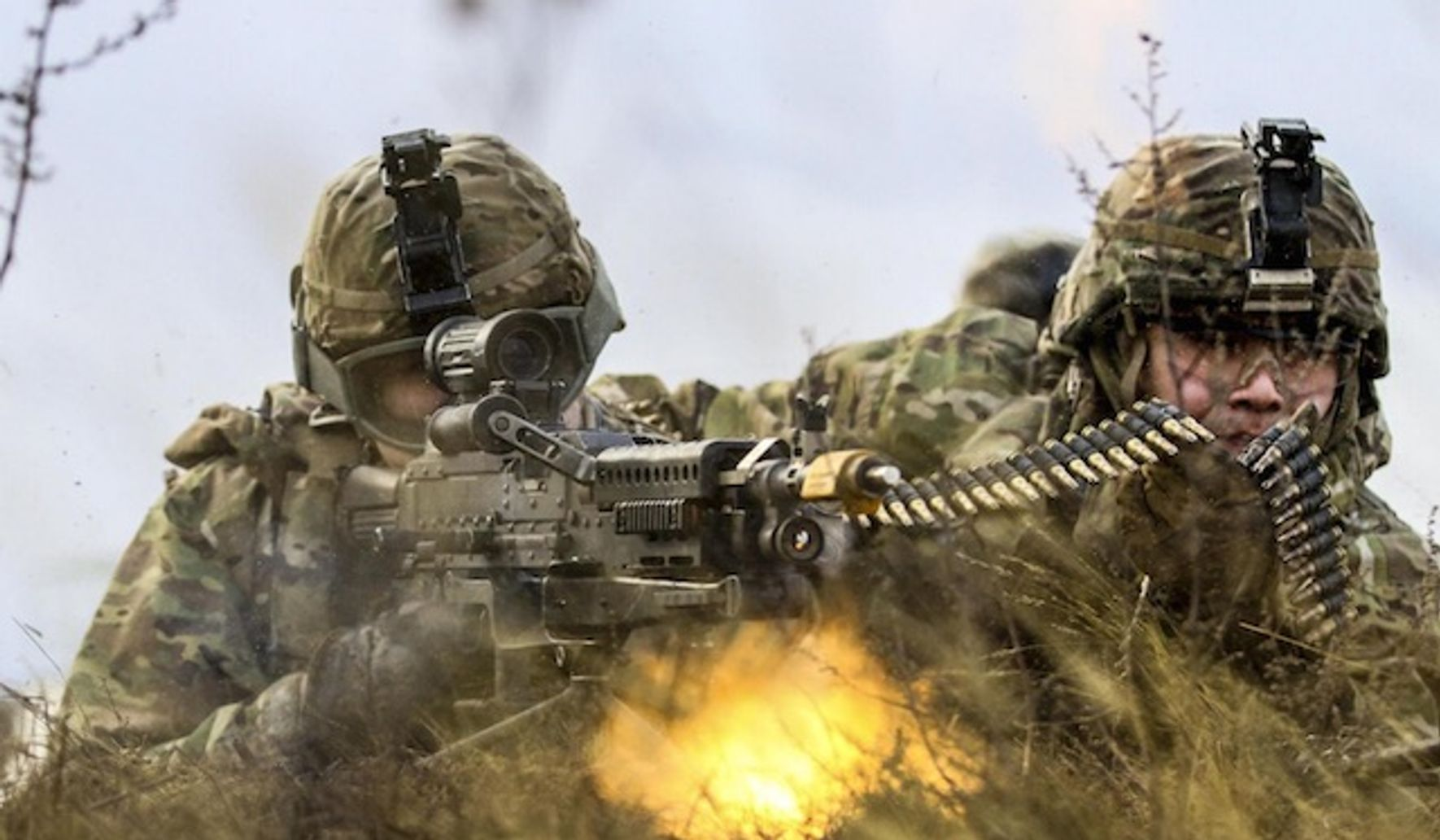 Image of article '20,000 U.S. troops deploying to Europe in biggest show of force since Cold War'