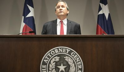 Republican Texas Attorney General Ken Paxton (Jay Janner/Austin American-Statesman via AP) **FILE**
