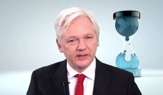 WikiLeaks founder  Julian Assange speaks in this video made available Thursday March 9, 2017. (WikiLeaks via AP)