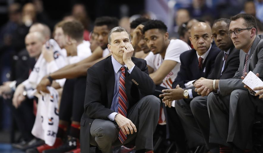 Maryland head coach Mark Turgeon reacts during the second half of an NCAA college basketball game against Wisconsin in the Big Ten tournament, Friday, March 10, 2017, in Washington. Northwestern won 72-64. (AP Photo/Alex Brandon) **FILE**