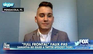 """Kyle Coddington, the 20-year-old terminal cancer patient who was mocked as having """"Nazi hair"""" during a CPAC segment on TBS' """"Full Frontal With Samantha Bee,"""" says the egregious gaffe """"goes beyond"""" him and his disease. (Fox News)"""
