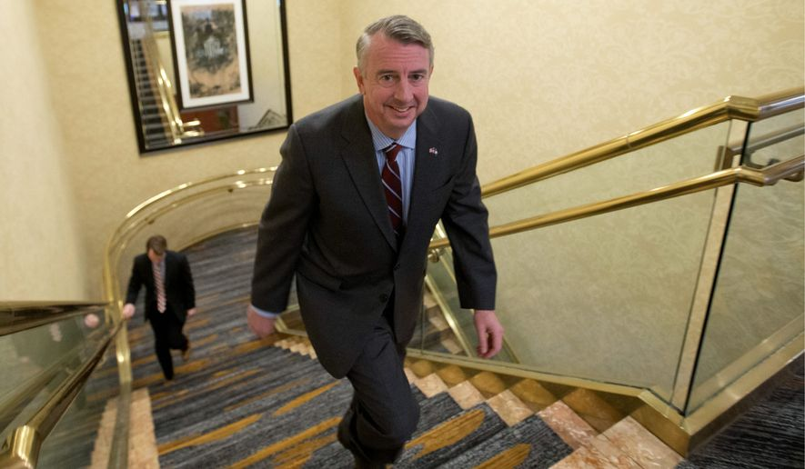 "Ed Gillespie, a Republican running for Virginia governor, ""believes Obamacare is a disaster that should be completely repealed and replaced,"" a spokesman said. Republicans seeking office this year aren't buying the plan House leaders are pushing. (Associated Press)"
