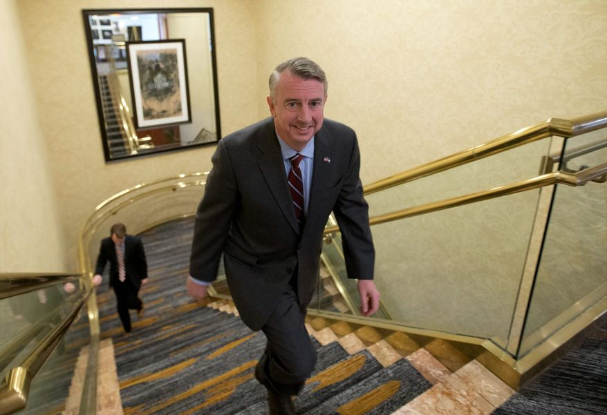 """Ed Gillespie, a Republican running for Virginia governor, """"believes Obamacare is a disaster that should be completely repealed and replaced,"""" a spokesman said. Republicans seeking office this year aren't buying the plan House leaders are pushing. (Associated Press)"""