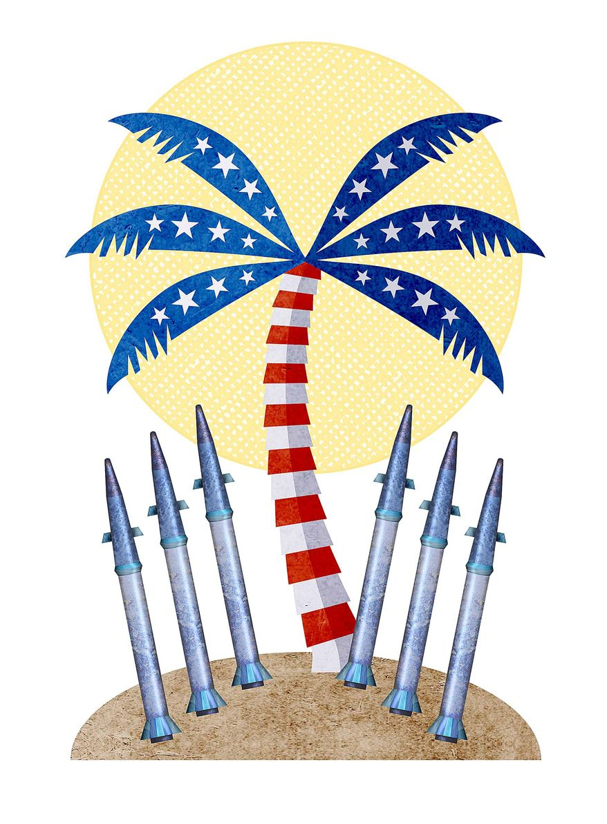 THAAD Missiles Deploy to Hawaii Illustration by Greg Groesch/The Washington Times
