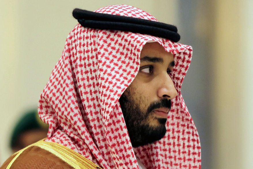 In this Nov. 11, 2015 file photo, Saudi Arabian Deputy Crown Prince Mohammed bin Salman attends a summit of Arab and Latin American leaders in Riyadh, Saudi Arabia. Saudi Arabia's second-in-line to the throne, Deputy Crown Prince Mohammed bin Salman, will meet President Donald Trump at the White House in the highest-level visit to Washington by a Saudi royal since November's presidential election. (AP Photo/Hasan Jamali, file)