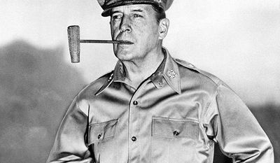 "Douglas MacArthur (26 January 1880; 5 April 1964) was  five-star general and field marshal of the Philippine Army. He was Chief of Staff of the United States Army during the 1930s and played a prominent role in the Pacific theater during World War II. He received the Medal of Honor for his service in the Philippines Campaign, which made him and his father Arthur MacArthur, Jr., the first father and son to be awarded the medal. He was one of only five men ever to rise to the rank of General of the Army in the US Army, and the only man ever to become a field marshal in the Philippine Army. From 1919 to 1922, MacArthur served as Superintendent of the U.S. Military Academy at West Point, where he attempted a series of reforms. His next assignment was in the Philippines, where in 1924 he was instrumental in quelling the Philippine Scout Mutiny. In 1925, he became the Army's youngest major general. He retired from the US Army in 1937 to become Military Advisor to the Commonwealth Government of the Philippines. MacArthur was recalled to active duty in 1941 as commander of United States Army Forces in the Far East. A series of disasters followed, starting with the destruction of his air forces on 8 December 1941, and the invasion of the Philippines by the Japanese. MacArthur's forces were soon compelled to withdraw to Bataan, where they held out until May 1942. In March 1942, MacArthur, his family and his staff left nearby Corregidor Island in PT boats and escaped to Australia, where MacArthur became Supreme Commander, Southwest Pacific Area. Upon his arrival in Australia, MacArthur gave a speech in which he famously promised ""I shall return"" to the Philippines. For his defense of the Philippines, MacArthur was awarded the Medal of Honor. After more than two years of fighting in the Pacific, he fulfilled a promise to return to the Philippines. He officially accepted Japan's surrender on 2 September 1945, aboard USS Missouri anchored in Tokyo Bay, and oversaw the occupa"