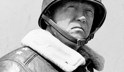 Gen. George S. Patton (November 11, 1885  December 21, 1945) was a senior officer of the United States Army who commanded the U.S. Seventh Army in the Mediterranean and European theaters of World War II, but is best known for his leadership of the U.S. Third Army in France and Germany following the Allied invasion of Normandy in June 1944. Patton first saw combat during the Pancho Villa Expedition in 1916, taking part in America's first military action using motor vehicles. He later joined the newly formed United States Tank Corps of the American Expeditionary Forces and saw action in World War I, commanding the U.S. tank school in France before being wounded while leading tanks into combat near the end of the war. In the interwar period, Patton remained a central figure in the development of armored warfare doctrine in the U.S. Army, serving in numerous staff positions throughout the country. Rising through the ranks, he commanded the 2nd Armored Division at the time of the American entry into World War II. Patton led U.S. troops into the Mediterranean theater with an invasion of Casablanca during Operation Torch in 1942, where he later established himself as an effective commander through his rapid rehabilitation of the demoralized U.S. II Corps. He commanded the U.S. Seventh Army during the Allied invasion of Sicily, where he was the first Allied commander to reach Messina. There he was embroiled in controversy after he slapped two shell-shocked soldiers under his command, and was temporarily removed from battlefield command for other duties such as participating in Operation Fortitude's disinformation campaign for Operation Overlord. Patton returned to command the Third Army following the invasion of Normandy in June 1944, where he led a highly successful rapid armored drive across France. He led the relief of beleaguered American troops at Bastogne during the Battle of the Bulge, and advanced his Third Army into Nazi Germany by the end of the war. (AP Photo/