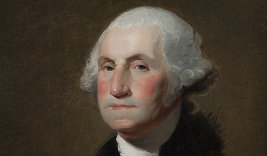 """George Washington served as Commander-in-Chief of the Continental Army during the American Revolutionary War, and later presided over the 1787 convention that drafted the United States Constitution. He served as the first President of the United States from 1789 to 1797 and was one of the Founding Fathers of the United States.  He is popularly considered the driving force behind the nation's establishment and came to be known as the """"father of the country,"""" both during his lifetime and to this day. ** FILE **"""