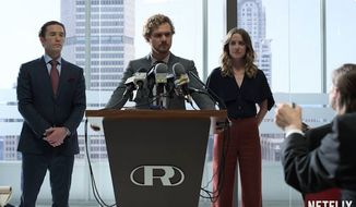 "Actor Finn Jones stars in the Netflix series ""Iron Fist"" as Danny Rand. (YouTube, Netflix)"