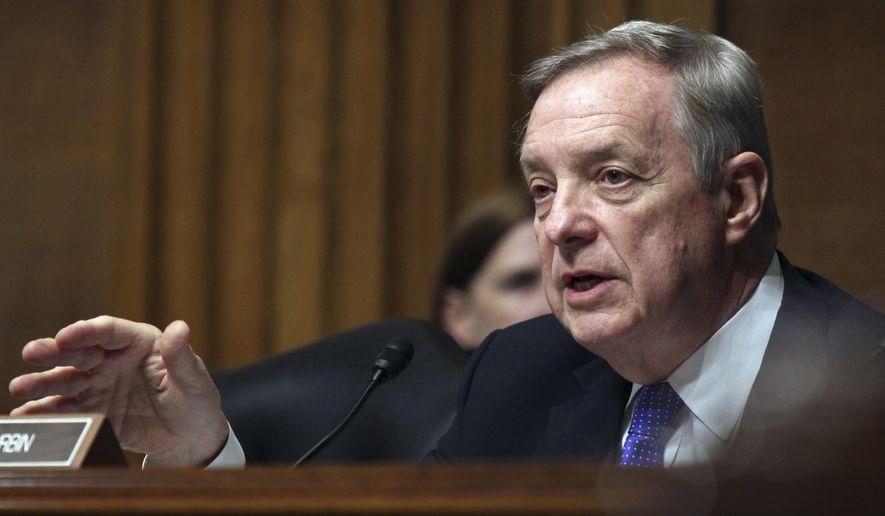 Sen. Richard J. Durbin, Illinois Democrat. (Associated Press/File)   **FILE**