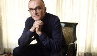 "In this March 6, 2017 photo, director Danny Boyle poses for a portrait at the Four Seasons Hotel in Beverly Hills, Calif., to promote his film, ""T2: Trainspotting,"" a sequel to the 1996 film, ""Trainspotting."" (Photo by Chris Pizzello/Invision/AP)"