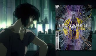 """Ghost in the Shell: Mondo X Steelbook Series,"" now available on Blu-ray from Anchor Bay Entertainment"
