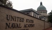 This May 10, 2007 file photo shows the U.S. Naval Academy in Annapolis, Md. (AP Photo/Kathleen Lange, File) **FILE**