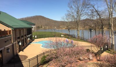 This March 11, 2017 photo shows the grounds at The Stonewall Resort in Roanoke, W.Va. (S.M. Christman via AP)