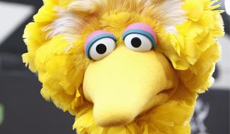 Big Bird arrives at the Daytime Emmy Awards in Los Angeles, in this Aug. 30, 2009, file photo. (AP Photo/Matt Sayles, File)