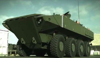 The U.S. Marine Corps has received a new Amphibious Combat Vehicle from BAE Systems, the ACV 1.1, for testing. (Image: BAE Systems)