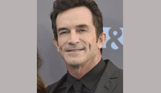 "FILE - In this Jan. 17, 2016 file photo, Jeff Probst arrives at the 21st annual Critics' Choice Awards in Santa Monica, Calif. The Nielsen company said the debut of a new ""Survivor"" edition on CBS with host Jeff Probst was seen by 7.7 million viewers last week. CBS had 13 shows that were on the 18 most-watched prime-time programs last week. (Photo by Jordan Strauss/Invision/AP, File)"
