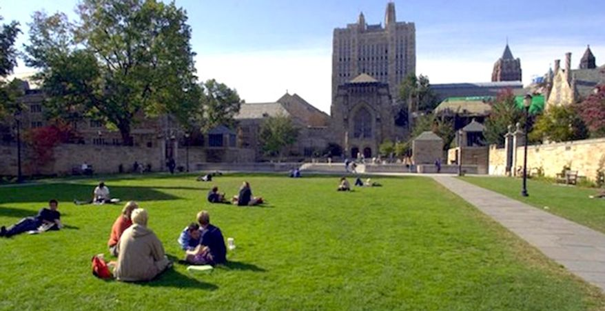 Yale University. (Associated Press)
