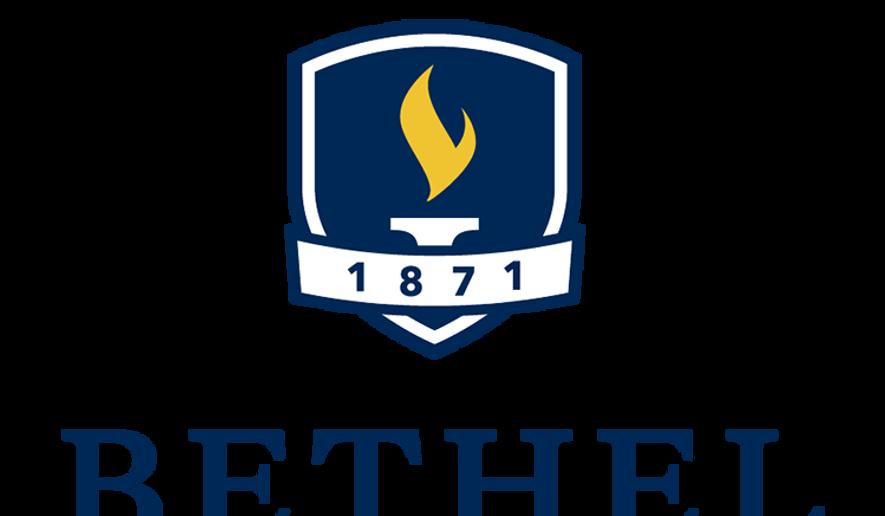 The logo for Bethel University of St. Paul, Minn., is shown here. (Bethel.edu)