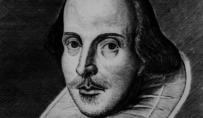 English playwright William Shakespeare. (AP Photo) ** FILE **