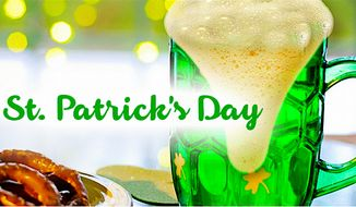 """90% of American's plan to observe St. Patrick's Day, but only 8 percent say they """"plan to get drunk,"""" says a new survey. (NationalToday.com)"""