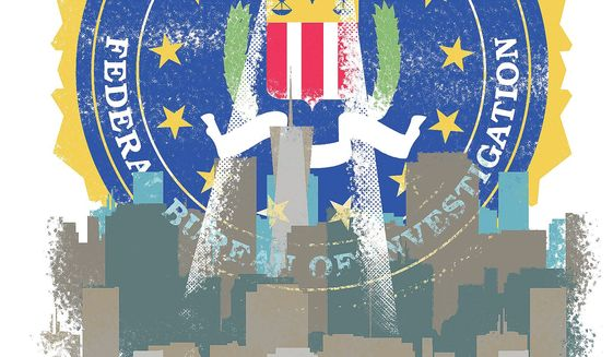 San Francisco Withdraws from the FBI's Joint Terrorism Task Force Illustration by Linas Garsys/The Washington Times