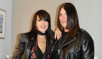"""Nena (left), the singer of """"99 Luftballons.""""  (Marivi Valcourt)"""