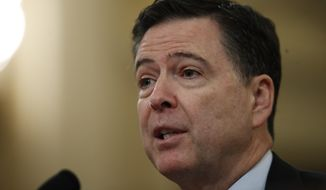FBI Director James B. Comey is answerable to not a single voter in the land. (Associated Press/File)