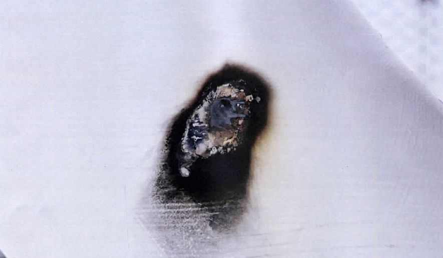 Authorities are investigating two separate incidents of vandalism in Iowa and South Dakota involving holes torched in pipes at above-ground valve site. (Associated Press)
