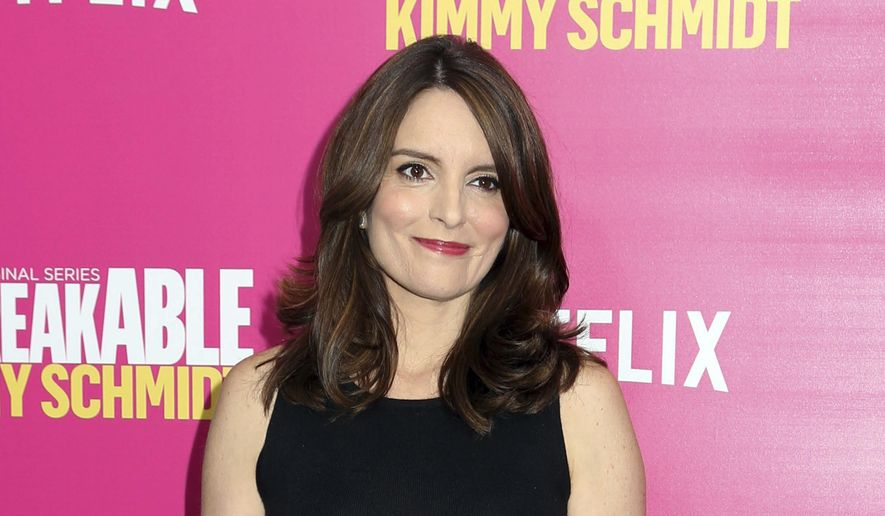 "In this March 30, 2016, file photo, Tina Fey attends the premiere of Netflix's ""Unbreakable Kimmy Schmidt"" Season 2 in New York. (Photo by Greg Allen/Invision/AP, File)"