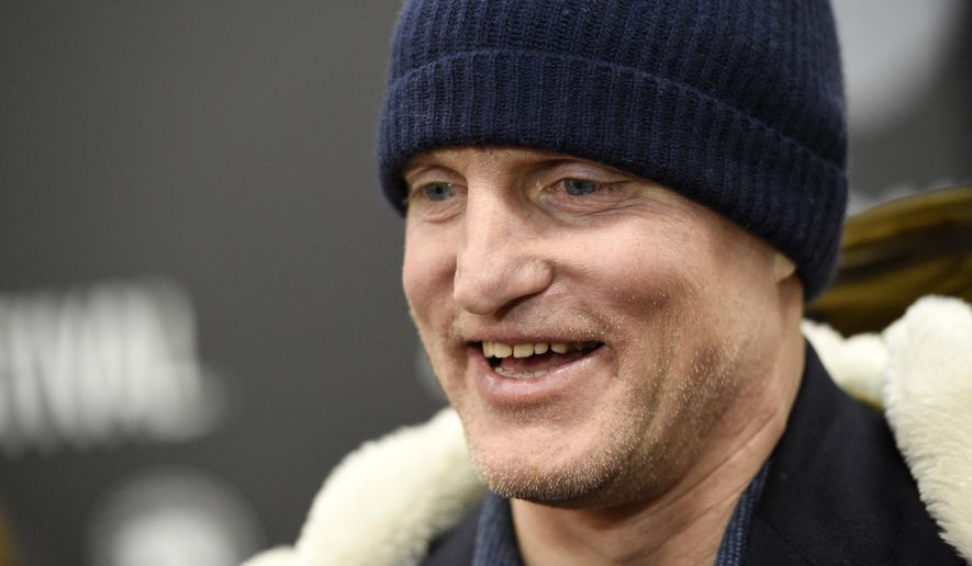 "FILE - In this Jan. 22, 2017, file photo, Woody Harrelson, a cast member in ""Wilson,"" is interviewed at the premiere of the film at the Eccles Theatre during the 2017 Sundance Film Festival in Park City, Utah.  Harrelson told Vulture in an interview published online on March 20, 2017, that he has given up smoking marijuana. (Photo by Chris Pizzello/Invision/AP, File)"