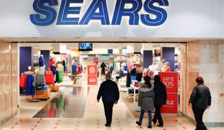 "Sears, once the monolith of American retail, says that there is ""substantial doubt"" it will keep its doors open. (Associated Press)"