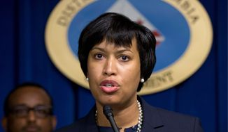 """The D.C. Council is not thrilled with Mayor Muriel Bower's budget. """"After reading most of this budget, I can't reconcile the title [D.C. Values in Action] with the actions proposed,"""" said Vincent Gray, Ward 7 Democrat. """"This should be a policy document reflecting what the residents want."""" (Associated Press)"""