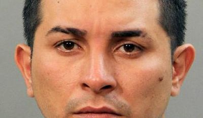 In this March 22, 2017 photo provided by the Nassau County Police Department, Tommy Vladim Alvarado-Ventura, of Hempstead, N.Y. is shown. Police say Alvarado-Ventura, a member of the MS-13 street gang who had been deported from the U.S. four times, stabbed two women and sexually assaulted a 2-year-old girl in a New York City suburb. (Nassau County Police Department via AP)