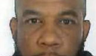 This is an undated photo released by the Metropolitan Police of Khalid Masood. Authorities identified Masood,  a 52-year-old Briton as the man who mowed down pedestrians and stabbed a policeman to death outside Parliament in London, saying he had a long criminal record and once was investigated for extremism but was not currently on a terrorism watch list. (Metropolitan Police via AP)