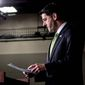 House Speaker Paul D. Ryan and other Republican leaders repeatedly cited the Byrd rule, which applies only in the Senate, as the rationale behind every retreat in their attempt to repeal Obamacare. (Associated Press/File)
