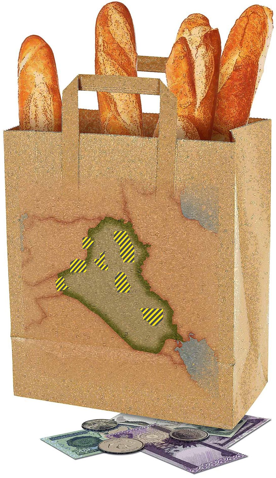 Rebuilding the Iraqi Economy Illustration by Greg Groesch/The Washington Times