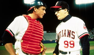 Major League (1989) - Written and directed by David S. Ward, that stars Tom Berenger, Charlie Sheen, Wesley Snipes, James Gammon, Bob Uecker, and Corbin Bernsen. Made for $11 million, Major League grossed nearly $50 million in domestic release. Major League deals with the exploits of a fictionalized version of the Cleveland Indians baseball team, and spawned two sequels (Major League II and Back to the Minors), neither of which replicated the success of the original film.