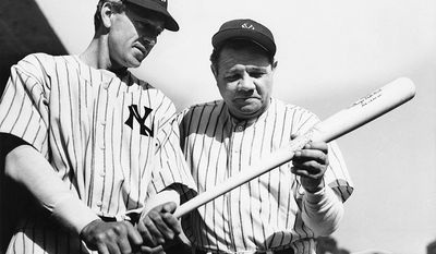 "The Pride of the Yankees (1942) - Directed by Sam Wood and starring Gary Cooper, Teresa Wright, and Walter Brennan. It is a tribute to the legendary New York Yankees first baseman Lou Gehrig, who died only one year before its release, at age 37, from amyotrophic lateral sclerosis, which later became known to the lay public as ""Lou Gehrig's disease"". Though subtitled ""The Life of Lou Gehrig"", the film is less a sports biography than an homage to a heroic and widely loved sports figure whose tragic and premature death touched the entire nation. It emphasizes Gehrig's relationship with his parents, his friendships with players and journalists, and his storybook romance with the woman who became his ""companion for life,"" Eleanor. Details of his baseball careerwhich were still fresh in most fans' minds in 1942are limited to montages of ballparks, pennants, and Cooper swinging bats and running bases, though Gehrig's best-known major league record2,130 consecutive games playedis prominently cited. Yankee teammates Babe Ruth, Bob Meusel, Mark Koenig, and Bill Dickey play themselves, as does sportscaster Bill Stern. The film received 11 Academy Award nominations. Its climax is a re-enactment of Gehrig's poignant 1939 farewell speech at Yankee Stadium. The film's iconic closing line""Today, I consider myself the luckiest man on the face of the Earth""was voted 38th on the American Film Institute's list of 100 greatest movie quotes."