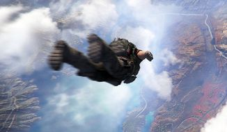 Jump out of a plane and parachute into firefights in the thrird person shooter Tom Clancy's Ghost Recon Wildlands.