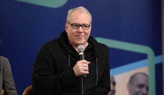 Screenwriter Bret Easton Ellis speaks at the Fullscreen Press Breakfast at Fullscreen offices on Monday, April 25, 2016, in New York. (Photo by Evan Agostini/Invision for fullscreen/AP Images) ** FILE **
