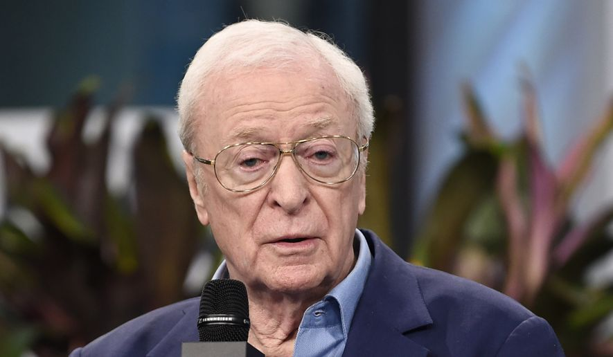 "Actor Michael Caine participates in the BUILD Speaker Series to discuss the film, ""Going In Style"", at AOL Studios on Tuesday, March 28, 2017, in New York. (Photo by Evan Agostini/Invision/AP)"