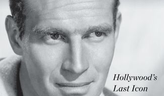 """This cover image released by Dey Street shows """"Charlton Heston: Hollywood's Last Icon,"""" by Marc Eliot. (Dey Street via AP)"""