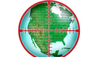 Cyber Warfare Illustration by Greg Groesch/The Washington Times