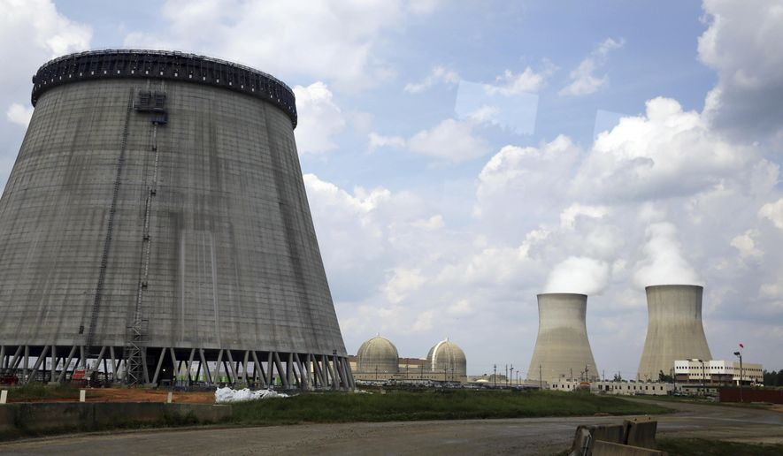 Originally estimated to cost $14.3 billion, the 2,200-megawatt Vogtle nuclear power plant in Georgia was supposed to come online this year. Now it's expected to cost over $28 billion, and construction delays have pushed back the estimated completion date to 2022. (Associated Press/File)