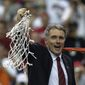 "Former Maryland coach Gary Williams said ""we weren't ranked No. 1 that year we won the national championship, but we were the best team in the country when the tournament was over."" (Associated Press)"