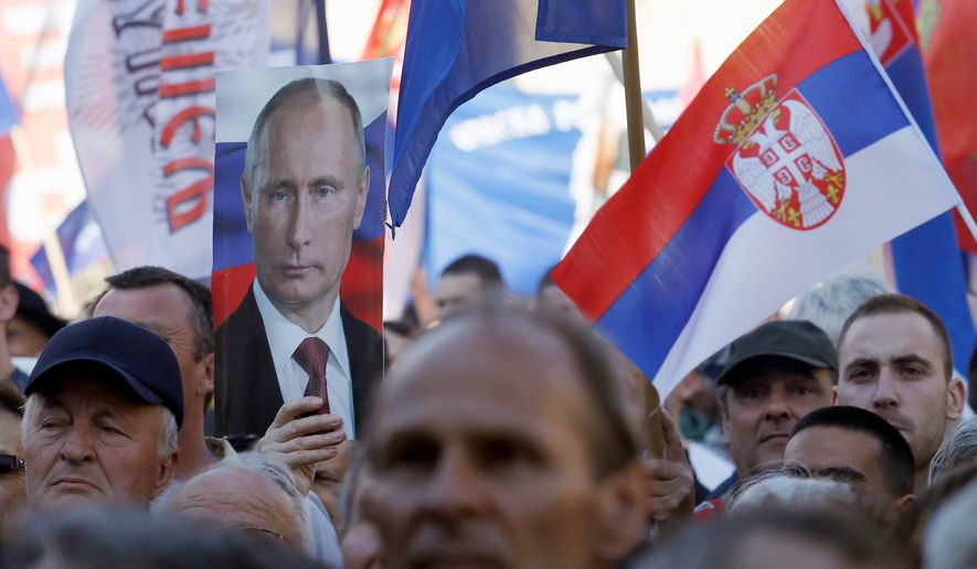 Many younger Serbs are in favor of fostering closer ties with the West and moving the economy more in line with the EU. However, cultural and historic ties to Russia remain strong, as Moscow was a key supporter during the 1990s war that ultimately led to Kosovo's independence. (Associated Press)
