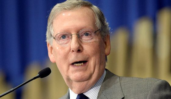 Sen. Mitch McConnell (Associated Press)